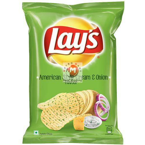 Picture of Lays American Style Cream & Onion 52g