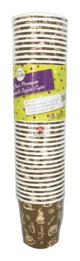 Picture of 40PK Paper Disposable Coffee Espresso Cups-115ML
