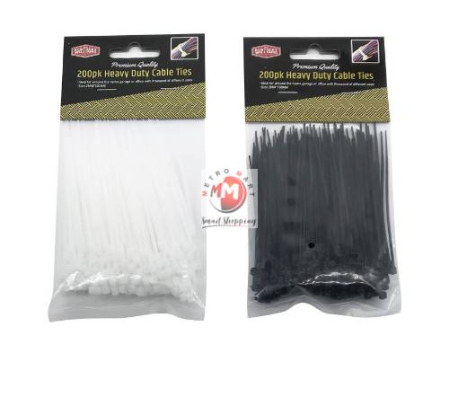 Picture of 200PK 10CM Cable Ties