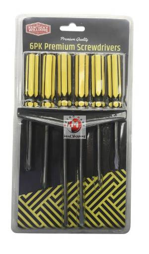 Picture of 6PK Screwdriver Set