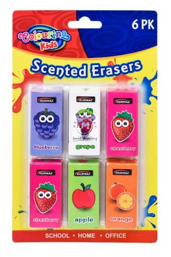 Picture of Scented Erasers-6PK