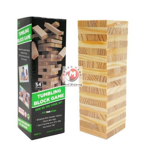 Picture of Tumbling Tower Block Game