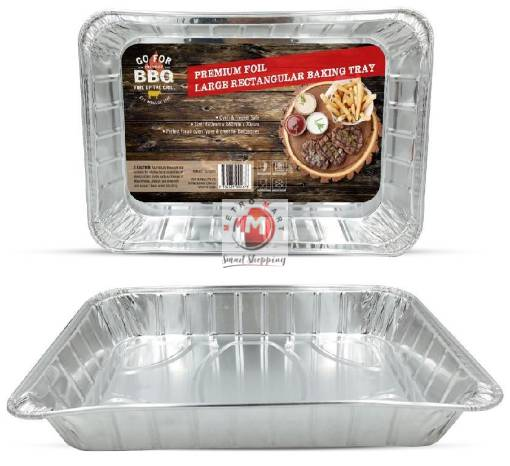 Picture of Rectangle Foil Roaster - 460MM x 340MM x 70MM