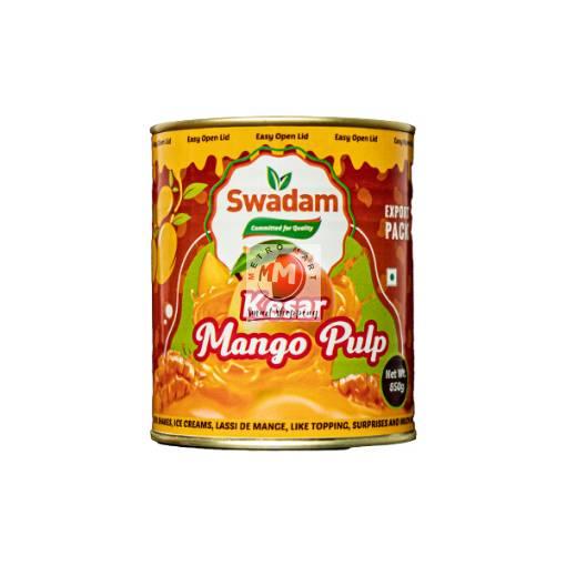 Picture of Swadam Kesar Mango Pulp 850g
