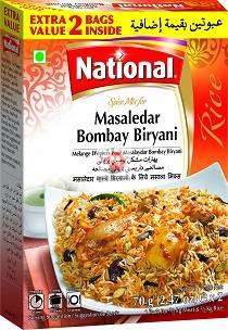Picture of National Masaledar Bombay Biryani 70g